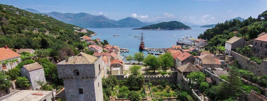 Karaka island croatia dubrovnik