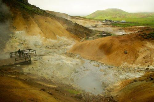 Geotermalno polje Krisuvik