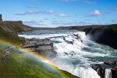 Vodopad Gullfoss