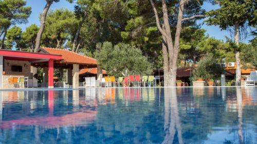 Mediterranean Village San Antonio central swimming pool