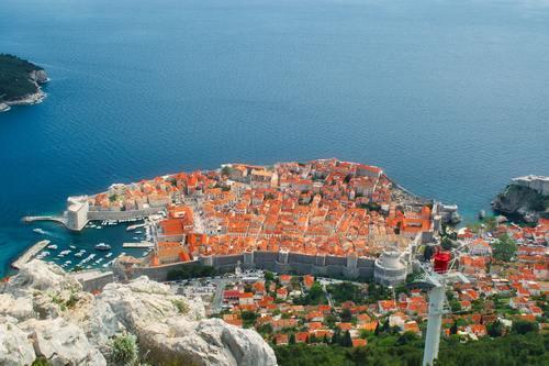 Mt. Srđ above Dubrovnik
